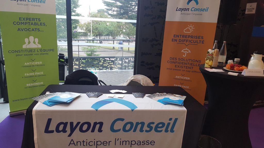 Stand de Layon Conseil à l'Assemblée Générale de l'Ordre des Experts-Comptables Pays de Loire 2019